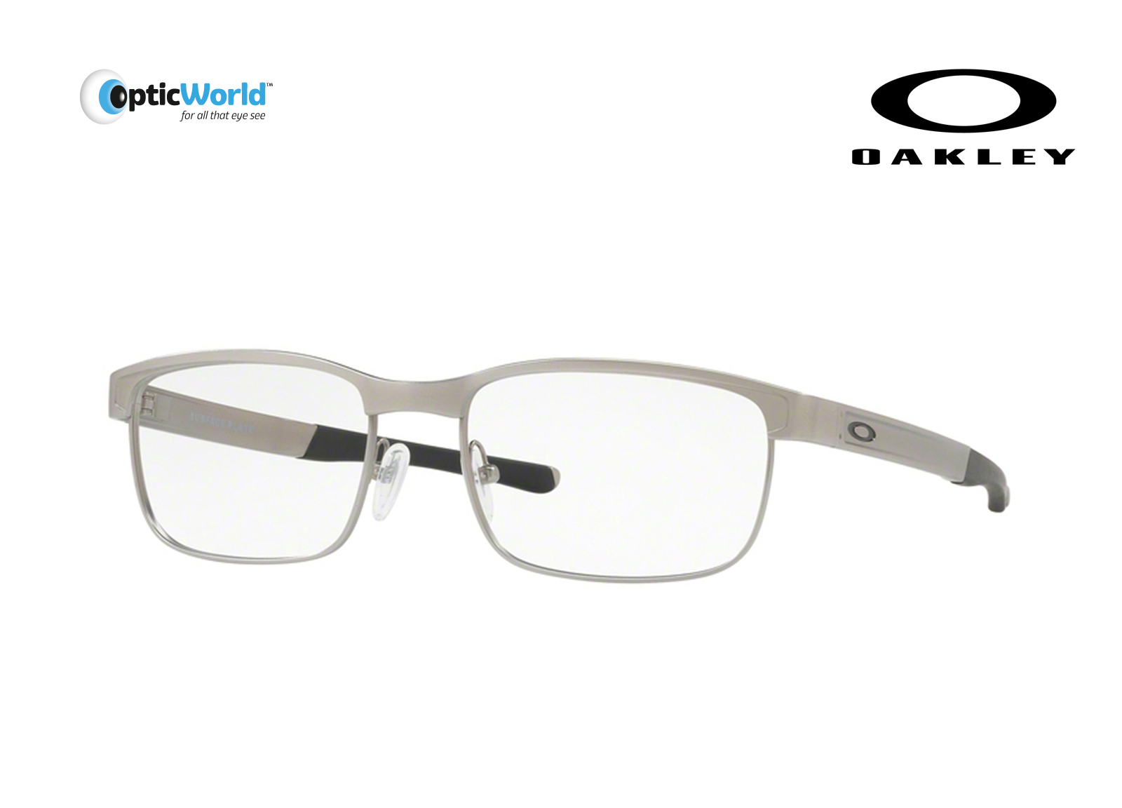 b6cd007cd3 Eyeglasses Oakley Surface Plate 5132-03 54 Satin Chrome. About this  product. Picture 1 of 2  Picture 2 of 2
