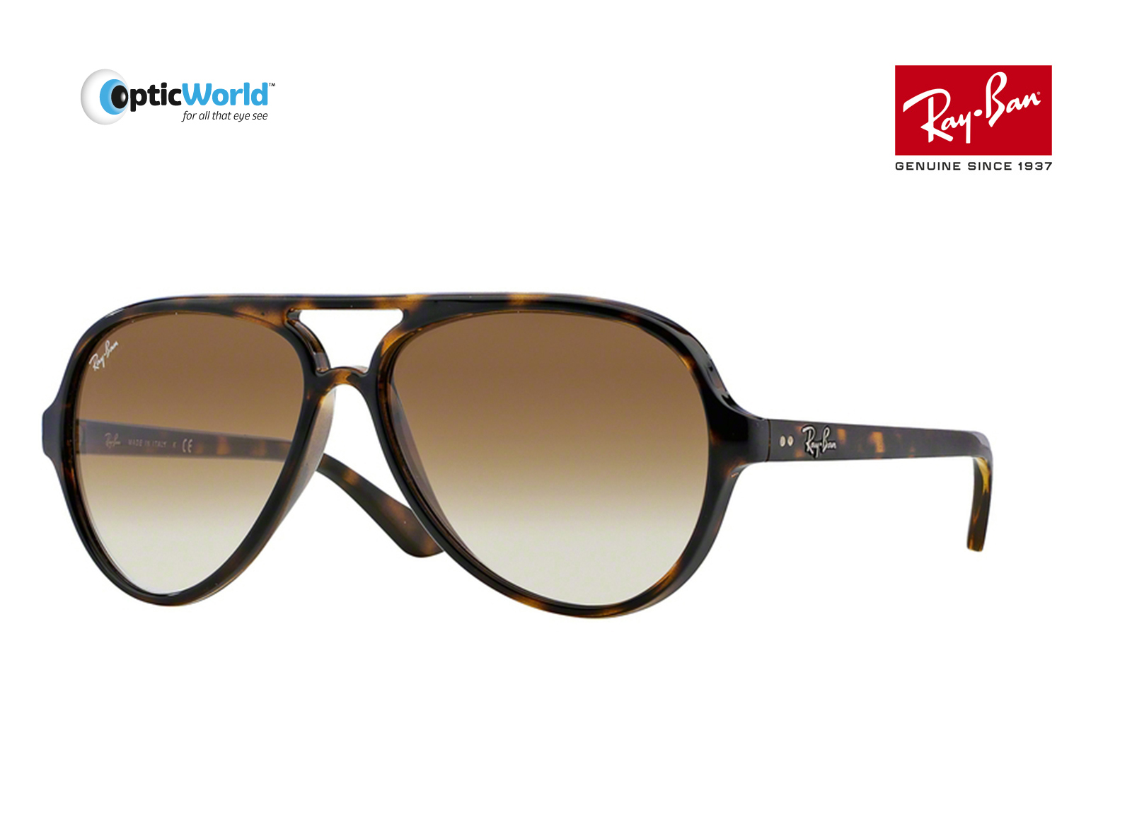 0086ef48fb7 ... australia ray ban rb4125 cats 5000 aviator sunglasses. about this  product. picture 1 of